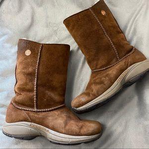 Merrell Suede Sheep Skin Winter Boots